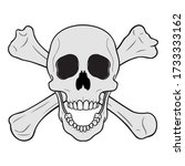Pirate Logo. Jolly Roger....