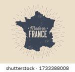 made in france vintage black... | Shutterstock .eps vector #1733388008
