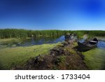 delta of the river danube | Shutterstock . vector #1733404