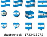 various designs of the...   Shutterstock . vector #1733415272