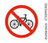 No Bike  No Bicycle Prohibitio...