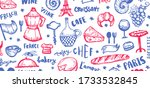 french background  france... | Shutterstock .eps vector #1733532845