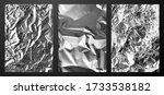 vector illustration silver foil ... | Shutterstock .eps vector #1733538182
