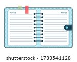 Notebook Diary Planner Vector...