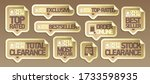 order online stickers... | Shutterstock .eps vector #1733598935
