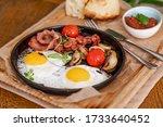 English Breakfast. Fried Eggs...