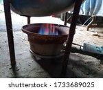 Work Gas Burner. Gas Burner...