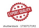 export quality rubber stamp.... | Shutterstock .eps vector #1733717192