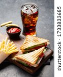 Club Sandwich  Potato Fries...