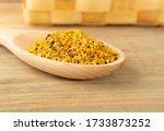 macro shot of bee pollen or... | Shutterstock . vector #1733873252
