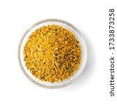 pile of bee pollen or perga in... | Shutterstock . vector #1733873258