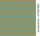 seamless circular pattern | Shutterstock .eps vector #173387882