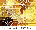 Abstract Geometric Mosaic...
