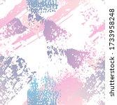 distressed splash. watercolor... | Shutterstock .eps vector #1733958248