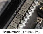 Computer Components. Close Up...