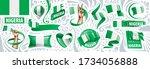 vector set of the national flag ...   Shutterstock .eps vector #1734056888