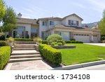 exterior shot of a recently... | Shutterstock . vector #1734108