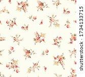 seamless vector pattern of a... | Shutterstock .eps vector #1734133715