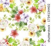 abstract elegance seamless...   Shutterstock . vector #1734134402