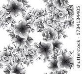 abstract elegance seamless...   Shutterstock . vector #1734134405