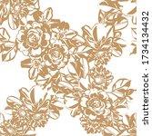 abstract elegance seamless...   Shutterstock . vector #1734134432