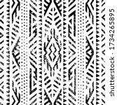 seamless geometric pattern....   Shutterstock .eps vector #1734265895