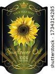 Sunflower Oil  Label Template...