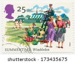 united kingdom   circa 1994  a... | Shutterstock . vector #173435675