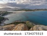 Aerial Panoramic View Of The...