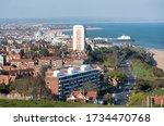 Panoramic View Over Meads In...