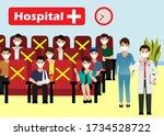 new normal life in social...   Shutterstock .eps vector #1734528722