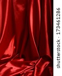 red silk background | Shutterstock . vector #173461286