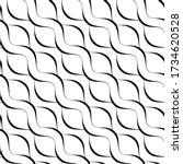 elegant wavy lines. seamless...   Shutterstock .eps vector #1734620528