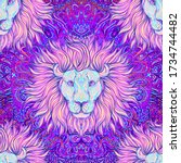 ornate seamless pattern with...