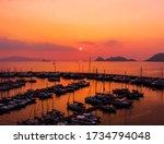 Bodrum, Yalikavak marina at sunset