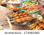 Cabodian Grilled Meat And Fish...