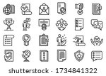 Attestation Service Icons Set....