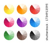 trendy flat color combinations...