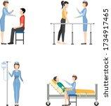 nurse medical vector...   Shutterstock .eps vector #1734917465