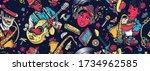 music unites people. jazz  funk ...   Shutterstock .eps vector #1734962585