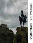A View Of Edinburgh Castle With ...