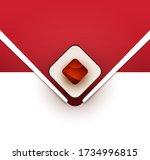 cartoon sushi roll. japanese... | Shutterstock .eps vector #1734996815