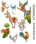 animals | Shutterstock . vector #173506502