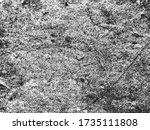 distressed overlay texture of... | Shutterstock .eps vector #1735111808