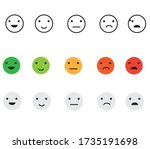 emoji emotion icons. eps 10 | Shutterstock .eps vector #1735191698