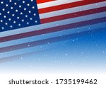 independence day background...   Shutterstock .eps vector #1735199462