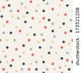 vector seamless pattern. modern ... | Shutterstock .eps vector #173521208
