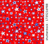 4th july background. background ... | Shutterstock . vector #1735216988