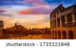 Landmark View Of Colosseum In ...