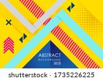 vector abstract background... | Shutterstock .eps vector #1735226225